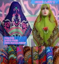 Grosir Jilbab segi empat umama scarf motif murah7